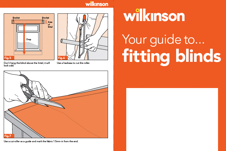 your guide to fitting blinds how to guides wilkolife. Black Bedroom Furniture Sets. Home Design Ideas