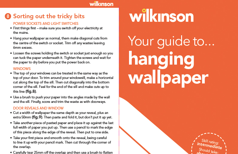 how to hang wallpaper how to guides wilkolife