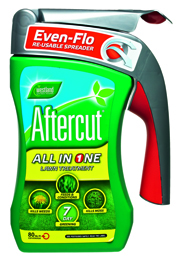 Aftercut all in one lawn treatment.