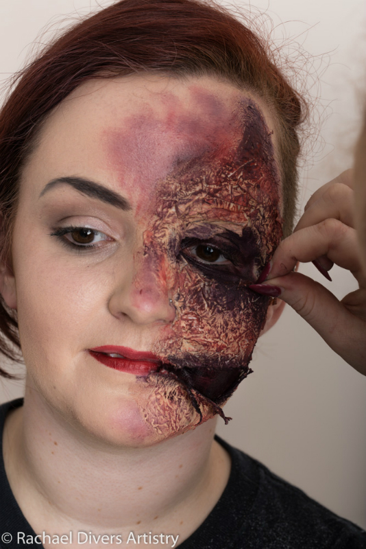Face Paint Latex Paint This Onto The Face Cuts