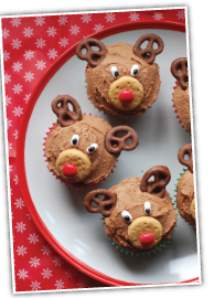 Reindeer Cupcake Finished