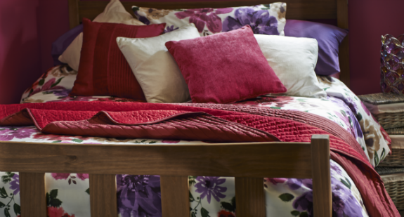 Babylon bedding and cushions