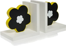 Carnaby daisy bookends