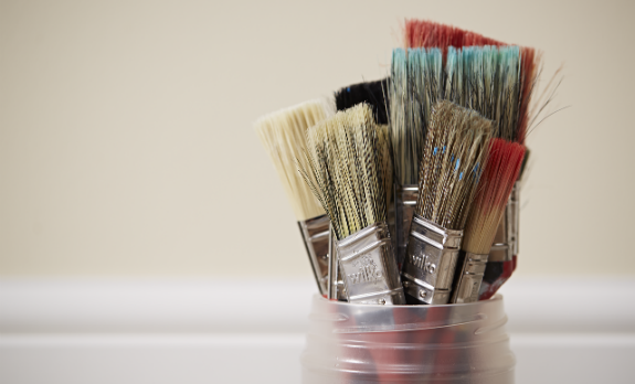 Wilko paint brushes