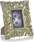 Rectangular baroque-style photo frame