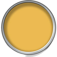 Wilko paint in Bumblebee