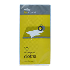Wilko all purpose cloths