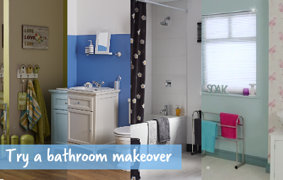 bathroom makeover feat