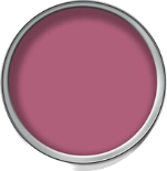 Wilko bathroom paint in Fuchsia