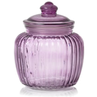 Purple jar