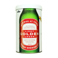 Light golden lager homebrew kit