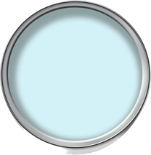 Wilko bathroom paint in Powder Blue