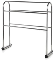 freestanding towel rail