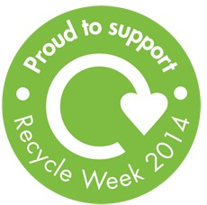 Proud to support Recycle Week 2014