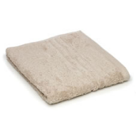 beige bath sheet