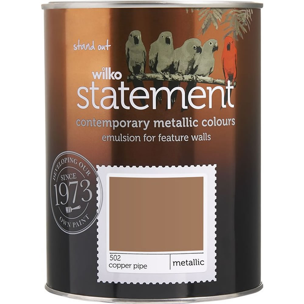 Wilko Statement Paint Copper Pipe