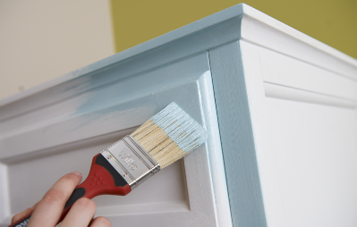 painting cupboard
