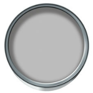 Wilko Matt emulsion in Pearl Grey