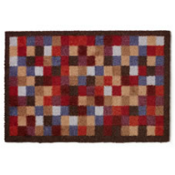 doormat with squares pattern