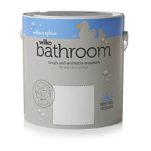 Wilko Bathroom Paint Pure Brilliant White