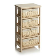 Willow 4 drawer storage unit