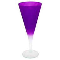 Wilko Colourplay purple wine glass