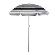 striped parasol