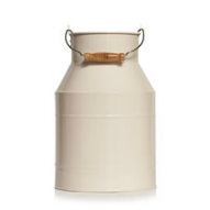 ornamental milk churn