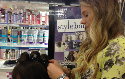 John Frieda stylist Laura Swan