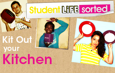 Kit Out Your Student Kitchen