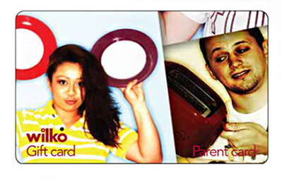 Wilko Student/Parent Card