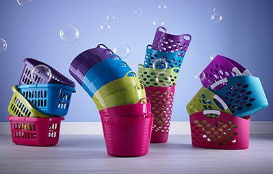 Colour Play Laundry baskets