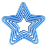 star cookie cutters set of 4