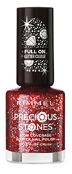 Rimmel Precious Stones nail polish Ruby Crush