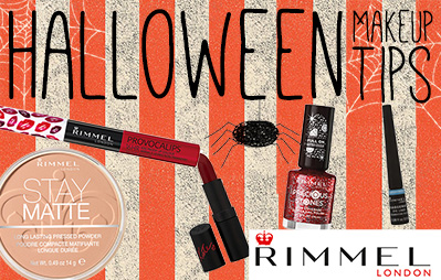 Rimmel Halloween Makeup Tips
