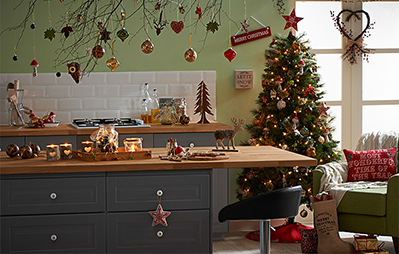 Wild Wood Christmas decorations range