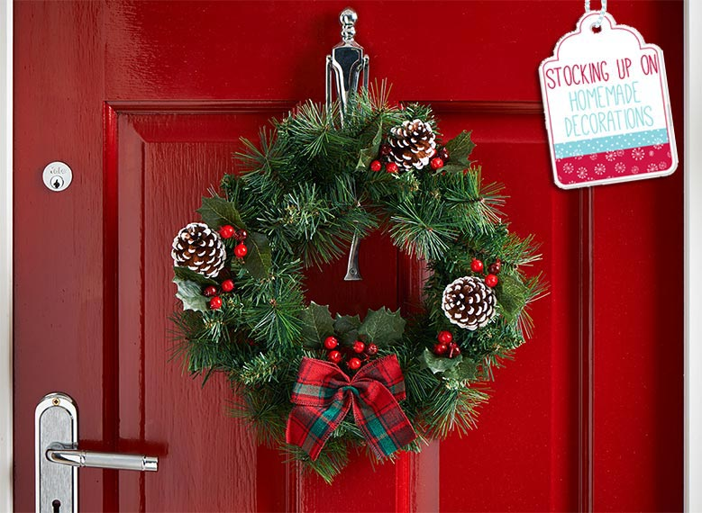 Make Your Own Christmas Wreath Wilkolife
