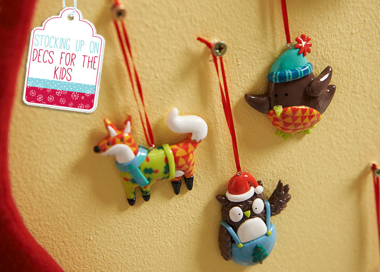 Christmas Decorations Just for the Kids! | Wilkolife