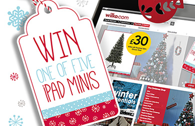 Win one of five iPad minis with Wilko