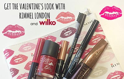 Get the Valentine's Look with Rimmel