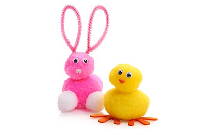make your own bunny and chick