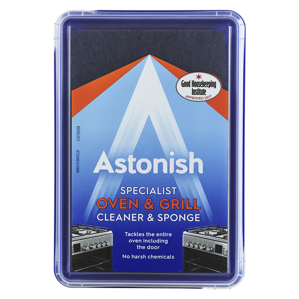 Astonish Specialist Oven and Grill Cleaner and Sponge