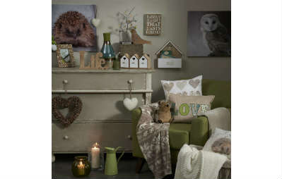 Nest autumn winter home