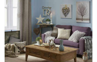 Frozen autumn winter home collection