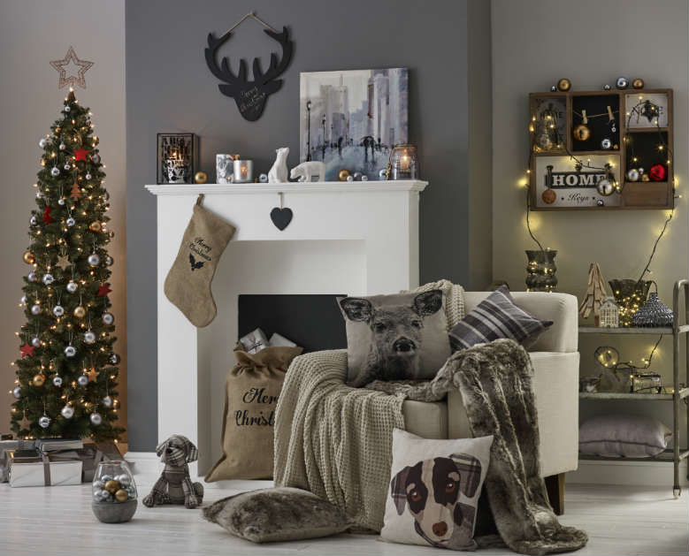 Industrial christmas decorations collection 2015