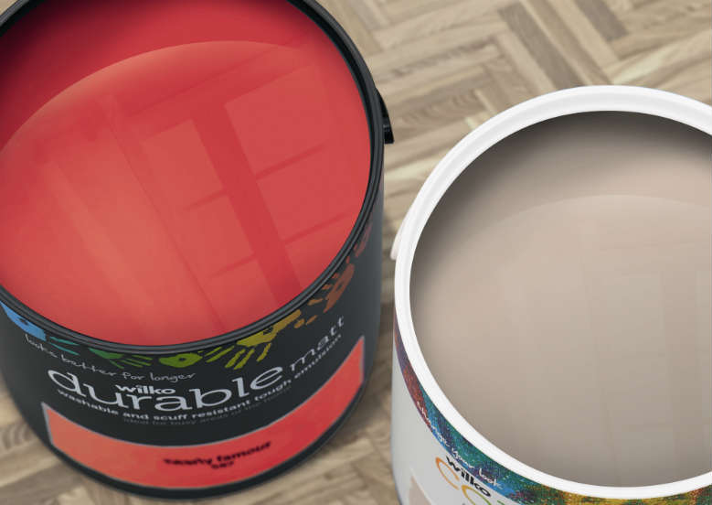 durable red paint