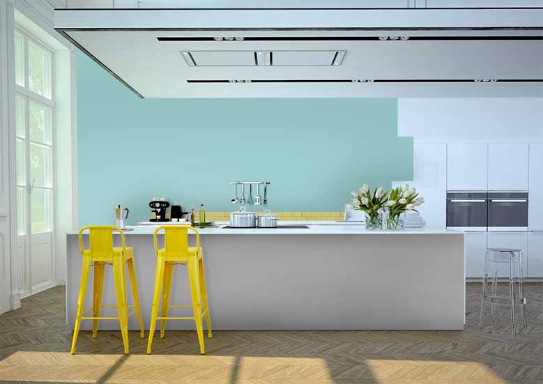 Wilko Kitchen Duck Egg Blue Paint