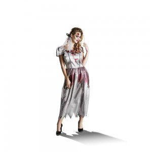 wilko hallowen ghost bride costume