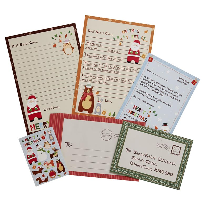 Letter to santa activity pack