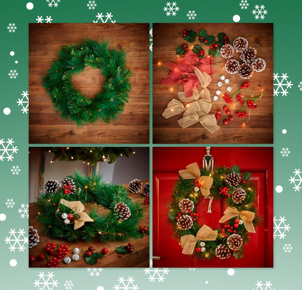 Make Your Own Christmas Wreath | Wilkolife